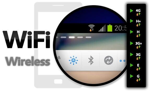 Redes móviles: WiFi: Wireless (Conexión inalámbrica)
