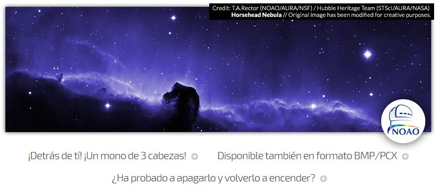 Nebulosa Cabeza de Caballo (NOAO)