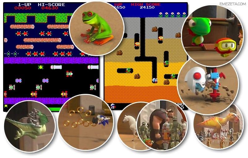 Rompe Ralph: Estación Central (Frogger, Dig Dug, Sonic, etc...)