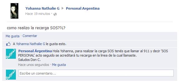 Saludos, Don C: SOS