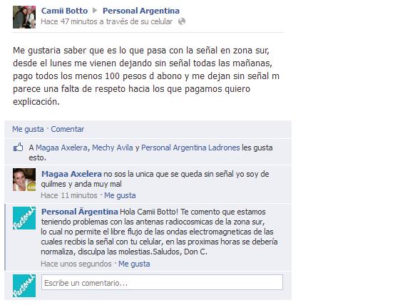 Saludos, Don C: Antenas radiocosmicas