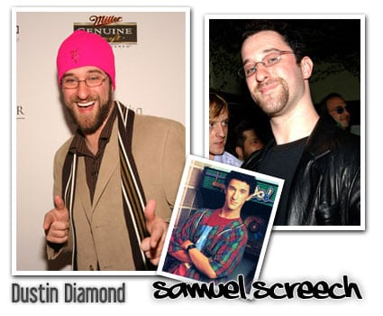 samuel screech dustin diamond salvados por la campana