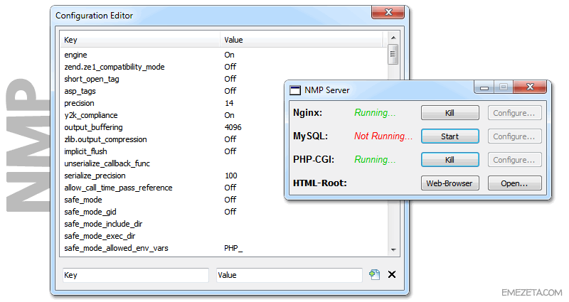 NMP Server (Nginx + MySQL + PHP)