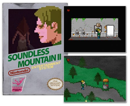silent hill 2 soundless mountain nintendo nes