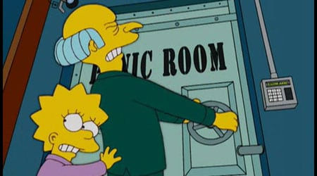 los simpsons lisa sr burns