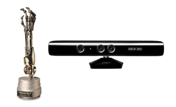 Kinect y los brazos robóticos