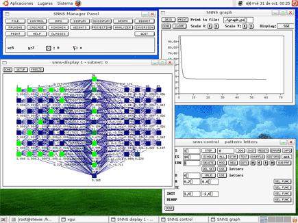 snns stuttgart neural network simulator