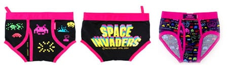 space invaders bragas braguitas ropa interior