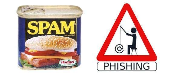 spam phishing scam
