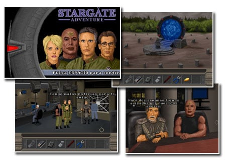 stargate adventure aventura grafica