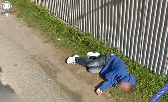 Google Street View: Alguien paso tequila