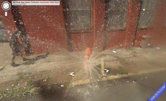 Google Street View: Boca incendios agua