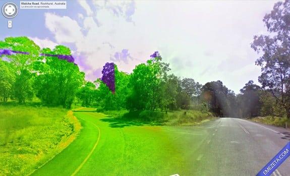 Google Street View: Ciudad esmeralda