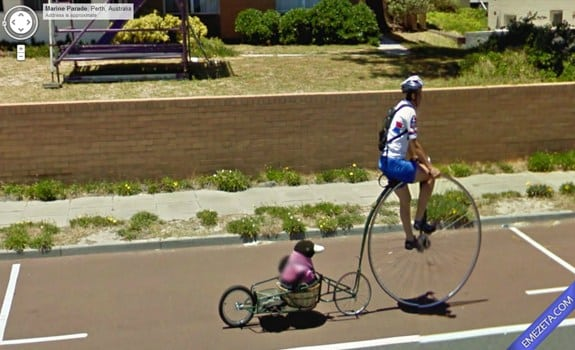 Google Street View: Momento surrealista