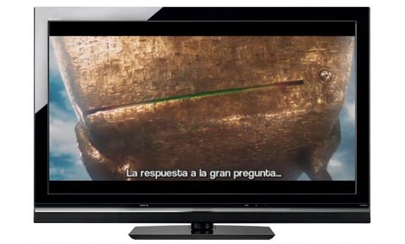 Subtitulos en la película del libro La guía del autoestopista galáctico (Douglas Adams)