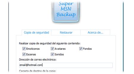 super msn backup