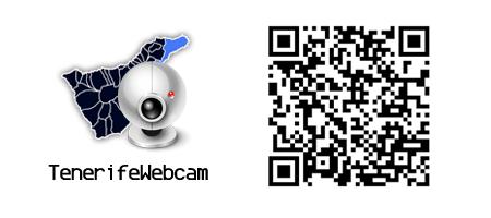 tenerife webcam cámara web tráfico tiempo qrcode