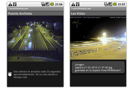 tenerife webcam cámara web tráfico tiempo