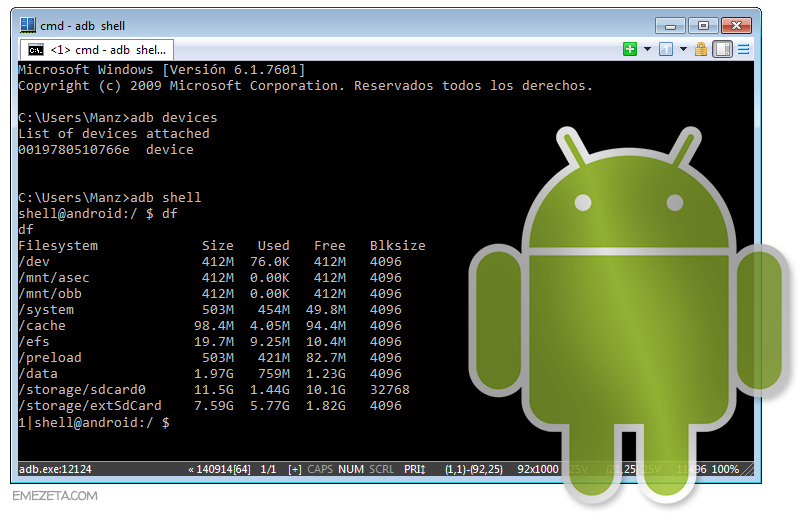 Android Debug Bridge (Android SDK)