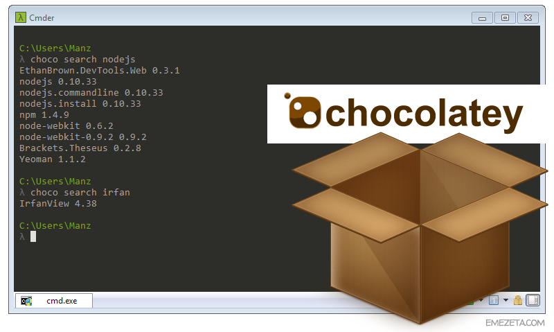 Chocolatey: Gestor de paquetes para Windows