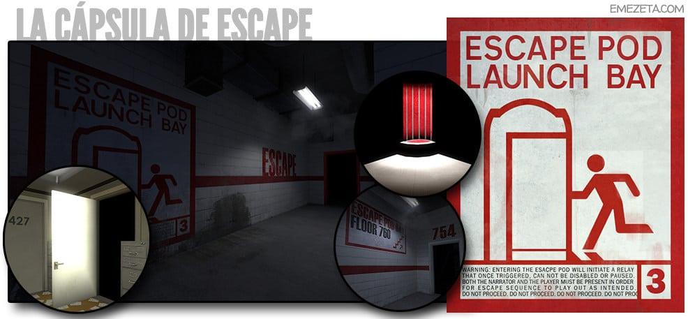 La cápsula de escape