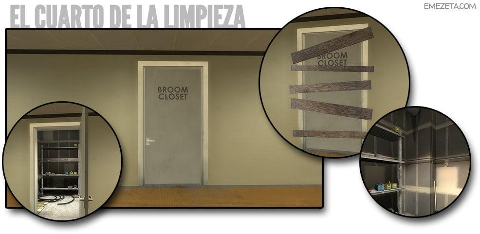 Cuarto de la limpieza (Broom Door)
