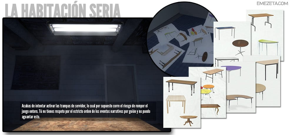 La habitación seria (the serious room)