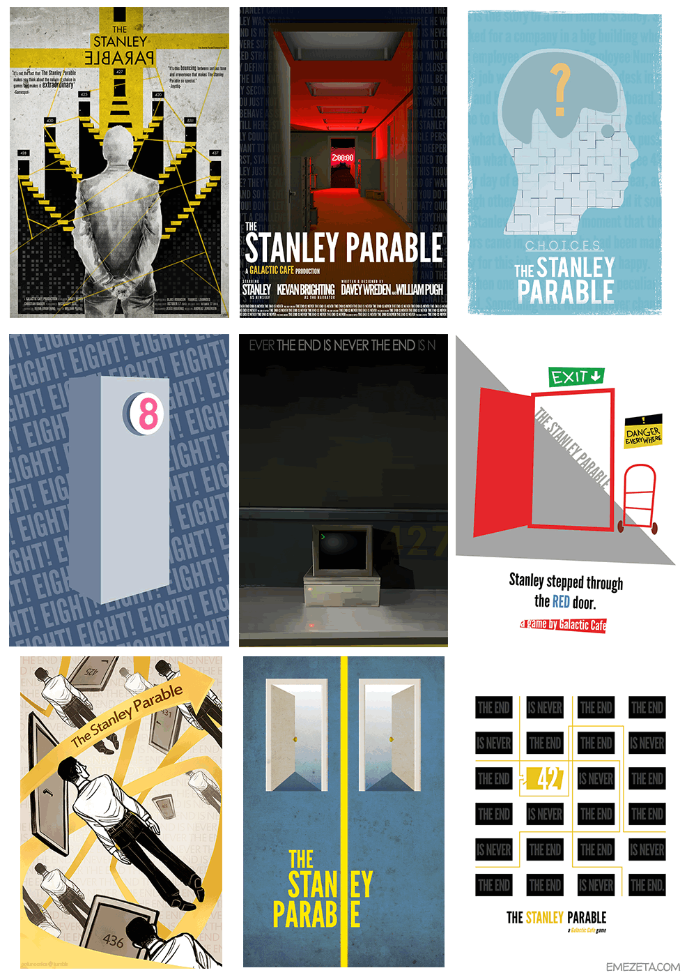 Posters de The Stanley Parable