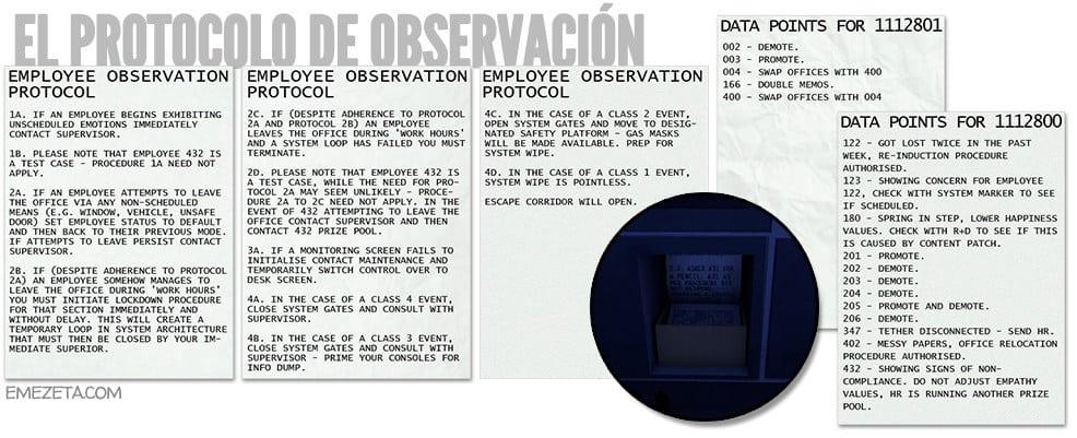 Protocolo de observación