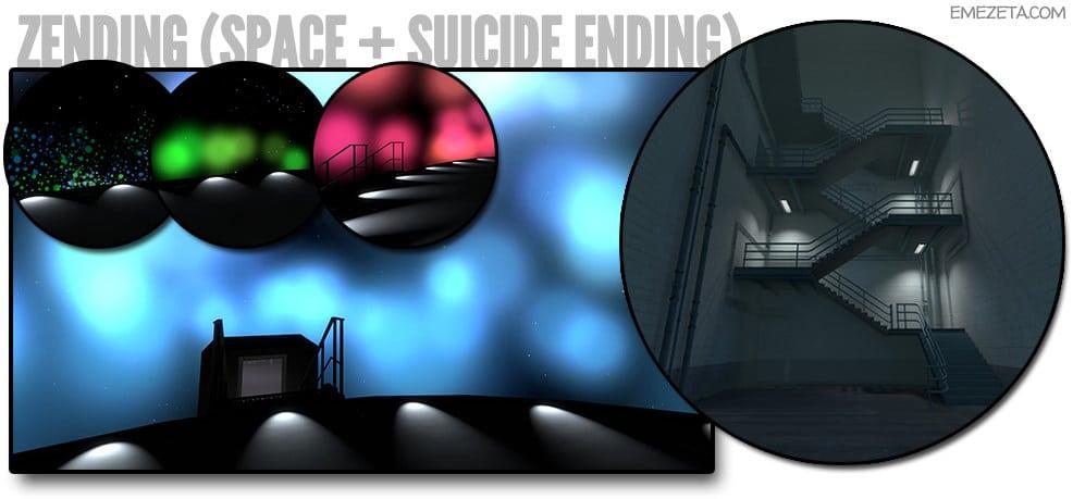 Zending (Space + Suicide Ending)