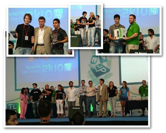 tlp2k10 tenerife lan party 2010 entrega premios