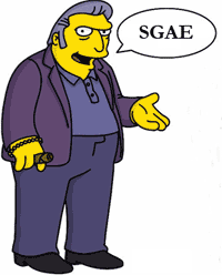sgae tony gordo simpson