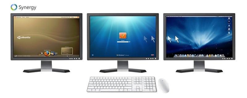 Synergy: Comparte teclado y ratón con otros equipos