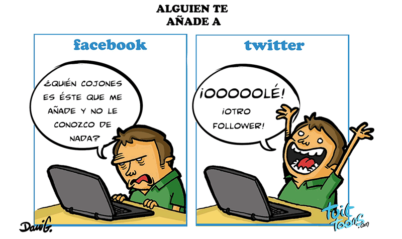 Tuittoons: Facebook - Twitter (carvalladolid)