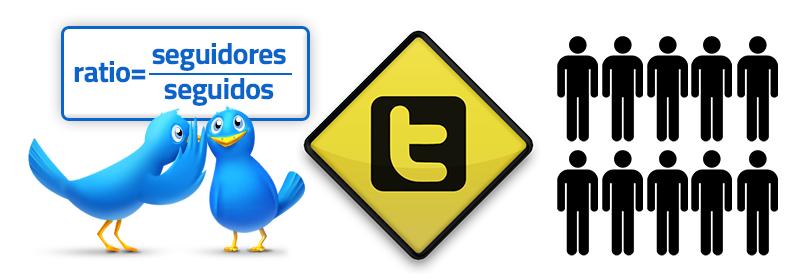 El ratio de Twitter