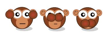 tres monos bit y byte