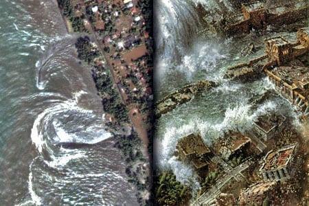 tsunami desastre maremoto atlántida