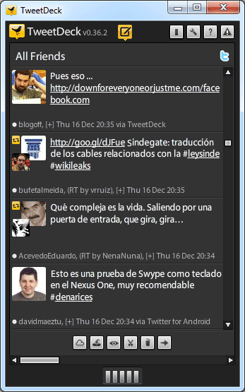 tweetdeck columna column