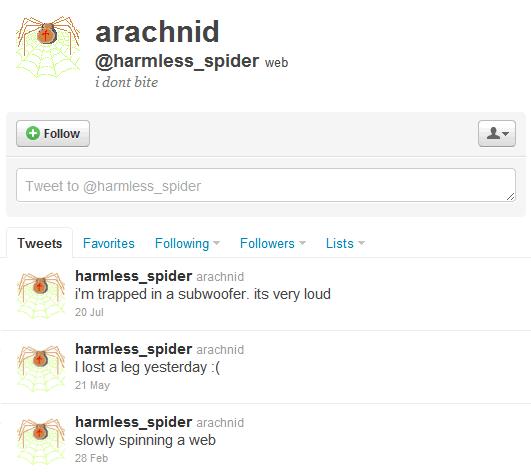 Cuentas absurdas de Twitter