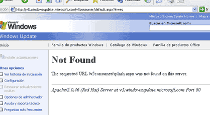 Windows Update bajo Linux?