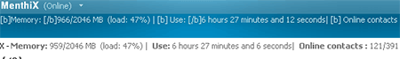 uptime msn memoria messenger msn windows live