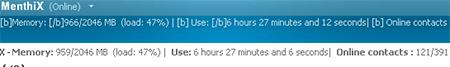 uptime msn memoria messenger msn windows live