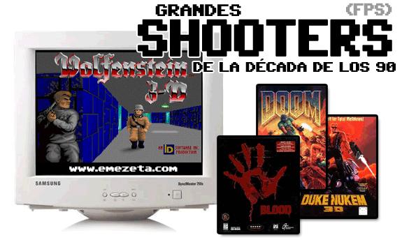Shooters (FPS): Videojuegos de disparos en primera persona
