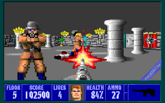 Shooters (FPS): Wolfenstein 3d