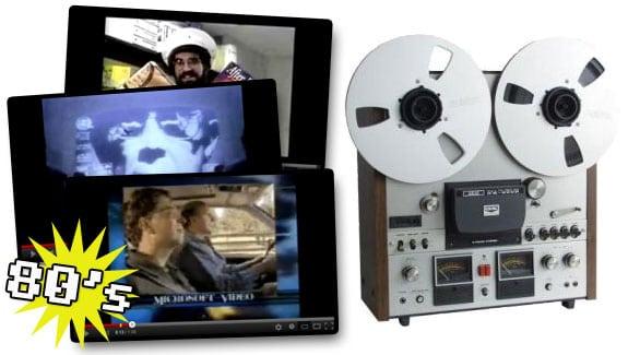 Videos de anuncios, publicidad o spots de informática en los 80