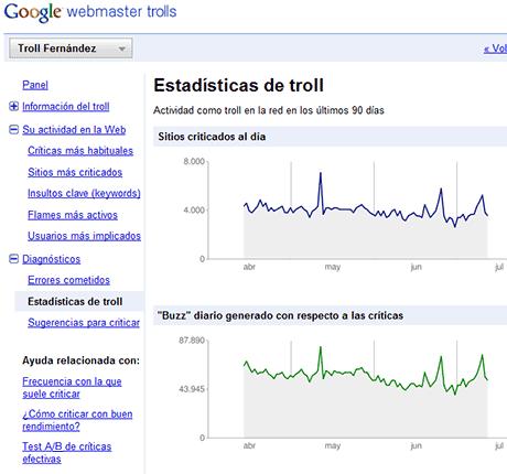 google webmaster trolls