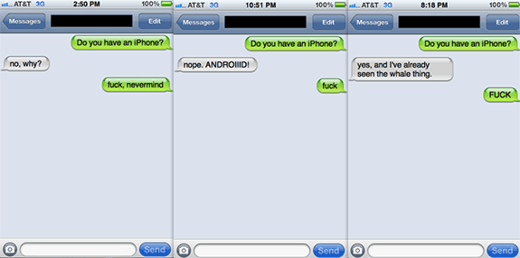 Whale meme: ¿Tienes iPhone?