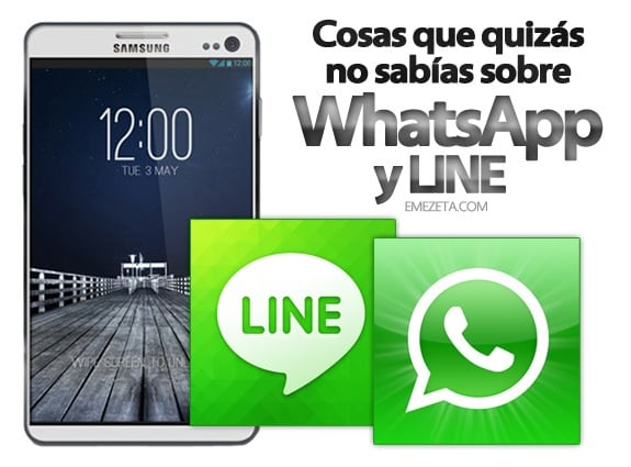 WhatsApp y LINE: Whatsapp line