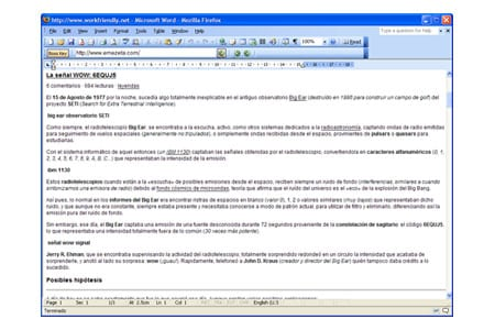 workfriendly navegar navegador microsoft word office 2003