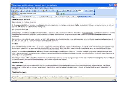 workfriendly navegar navegador microsoft word office 2003